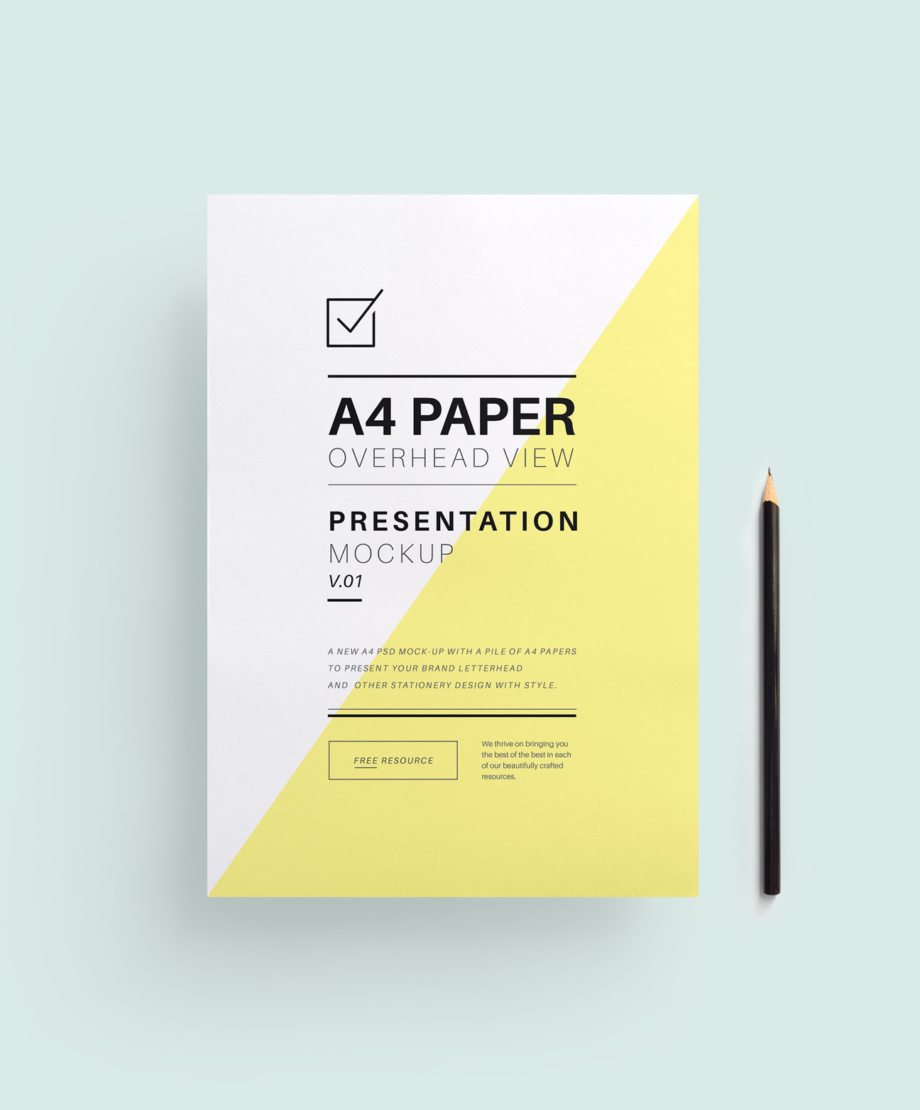 A4 Papper